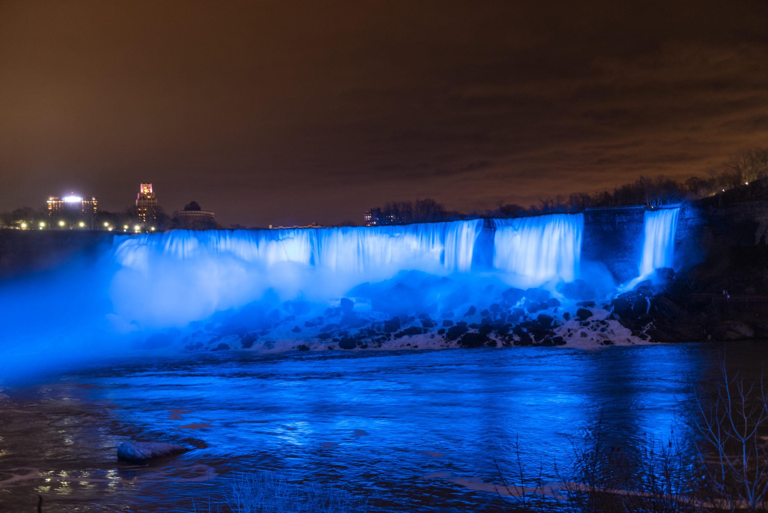New Falls Illumination